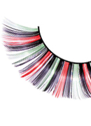 Magic Colors - Multi-colored Glitter Eyelashes 543