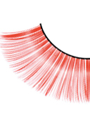 Magic Colors - Red Glitter Eyelashes 554