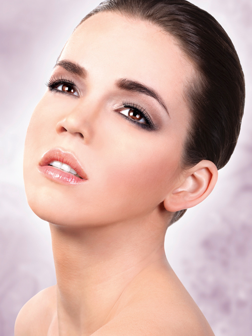 Natural Look - Black-White Deluxe Eyelashes 668