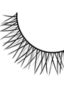Natural Look - Black Deluxe Eyelashes 681