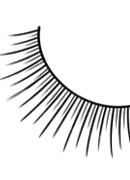 Natural Look - Black Premium Eyelashes 680