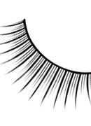 Natural Look - Black Premium Eyelashes 682
