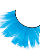 Paradise Dreams - Light Blue Feather Eyelashes 638