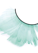 Paradise Dreams - Light Green Feather Eyelashes 637