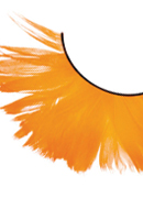 Paradise Dreams - Orange Feather Eyelashes 601