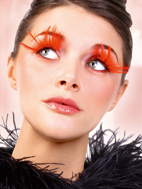 Paradise Dreams - Red Feather Eyelashes 618
