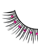 Starlight Edition - Black-Purple Rhinestone Eyelashes 482