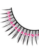 Starlight Edition - Black-Pink Rhinestone Eyelashes 510