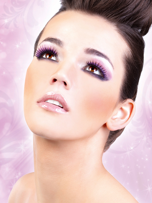 Starlight Edition - Black-Purple Deluxe Eyelashes 500