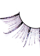 Starlight Edition - Black-Purple Feather Eyelashes 492