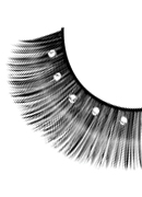 Starlight Edition - Black-White Rhinestone Eyelashes 485