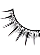 Starlight Edition - Black-White Rhinestone Eyelashes 504