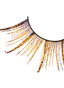 Starlight Edition - Brown-Gold Feather Eyelashes 496