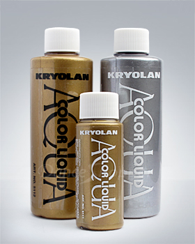 Kryolan Aquacolour Metallic Liquid
