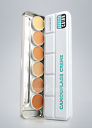 Dermacolor Camouflage Cream 6 Colors Palettes 71007