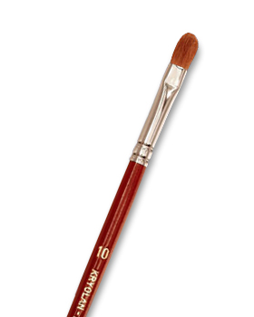 Kryolan Excellence Filbert Brushes