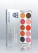 Kryolan 10 Colors Blusher Palette 5194