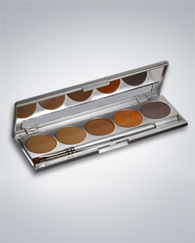 Kryolan 5 Colors Eyebrow Powder 5355