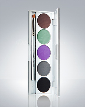 Kryolan 5 colors Cake Eye Liner Set 5329