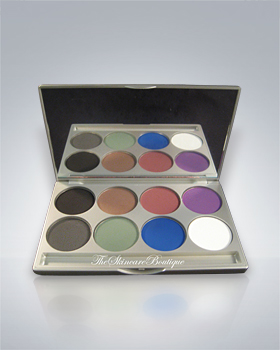 Kryolan Cake Eye Liner 8-Color Palette 5328