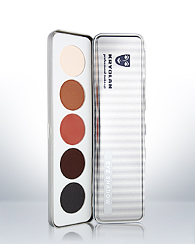 Kryolan Eye Shadow 5 Colors Palette 5336