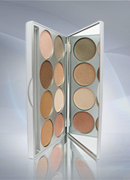 Kryolan Glamour Glow Palette 8 colors 9078