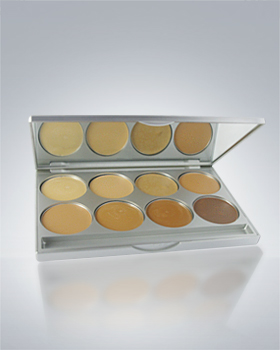 Kryolan High Definition Micro Foundation Cream 8 Color Palette 19108