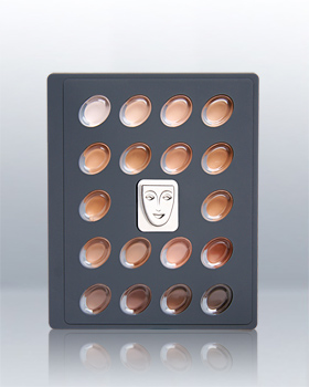 Kryolan High Definition Micro Foundation Cream Mini Palette 19018