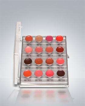 Dermacolor Light Lip Rouge Mini-Palette 16 Colors 70126