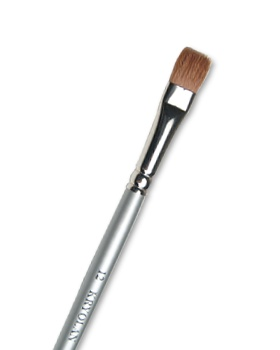 Kryolan Professional Makeup Brushes - Flat