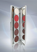 Kryolan Shades - 5 Color Eye & Rouge Palette 9335