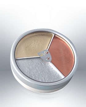 Kryolan Tri Color Metallic Wheel 1313
