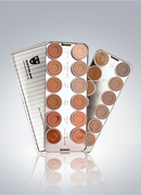 Kryolan Ultra Foundation Cream 24 Colors Palette 9008