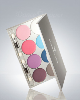 Kryolan Viva Brilliant Color Medley Matt 8 Colors 9108/01