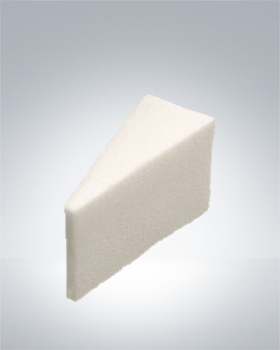 Kryolan Pre-Cut Synthetic-Foam Sponge Wedges 1447