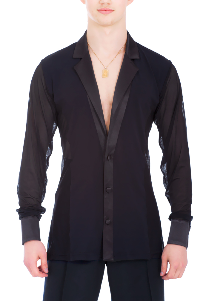 DSI Mens Aaron Latin Dance Shirt 4041