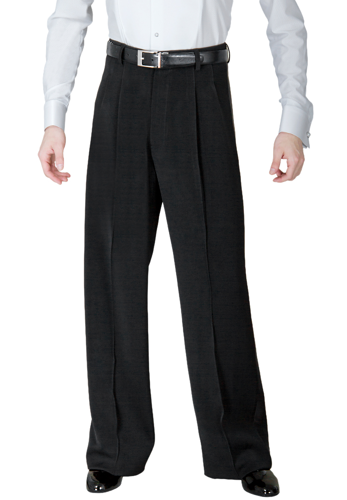 DSI Mens Ballroom Trousers with Satin Stripe 4005