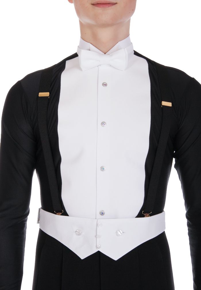 DSI Mens Stretch Ballroom Dance Shirt