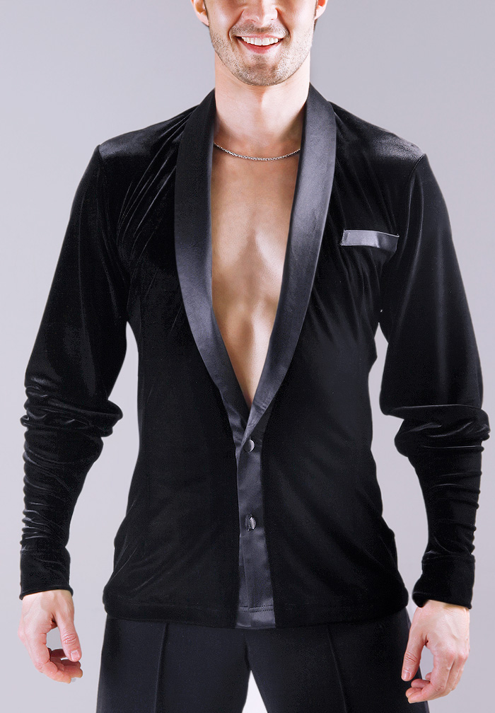 DSI Mens Ken Latin Dance Shirt 4048
