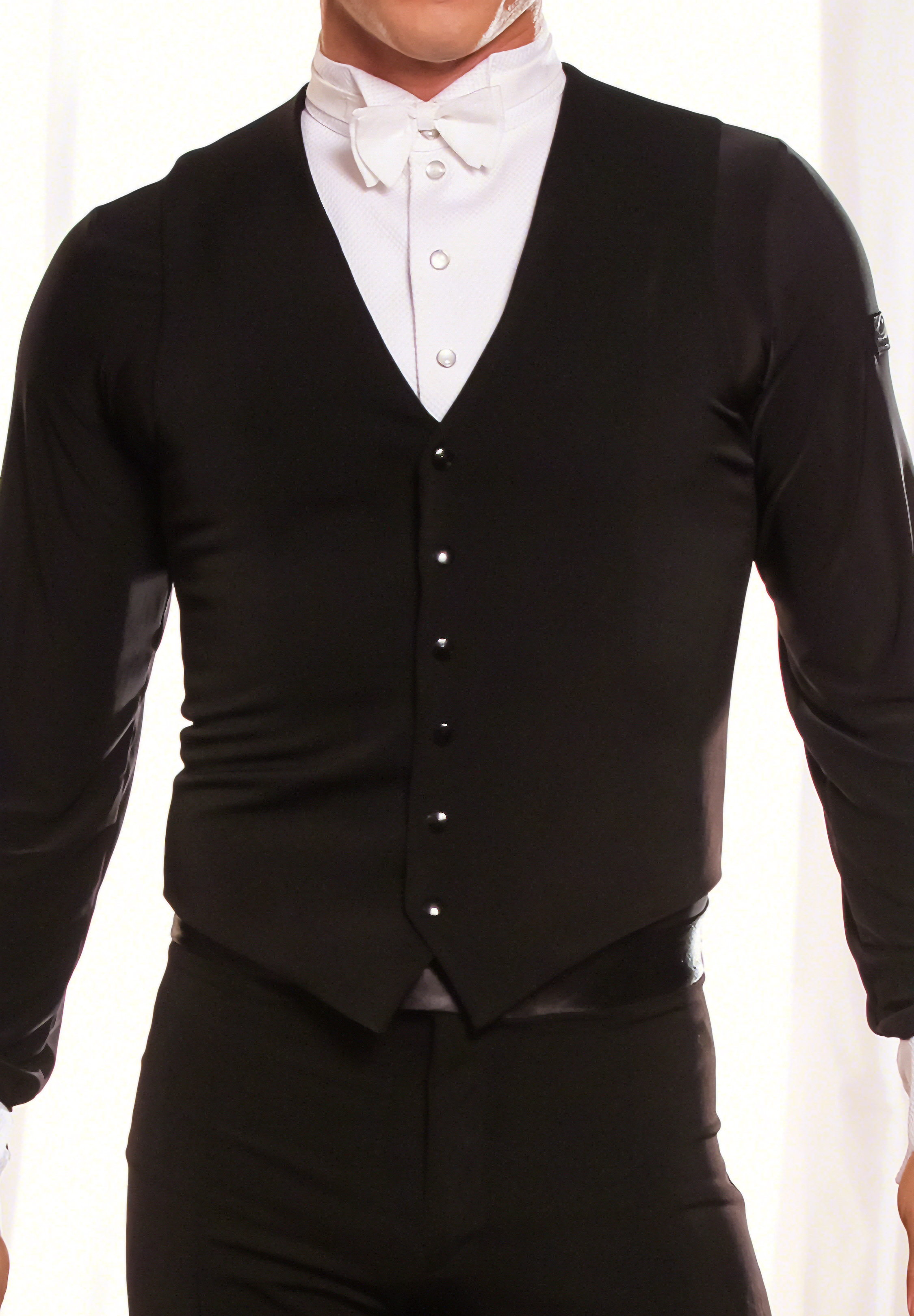 Dance America Mens Simple Ballroom Vest MV1