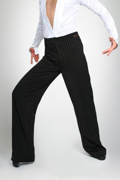Dancemo Mens Stretch Latin Dance Pants 9202313