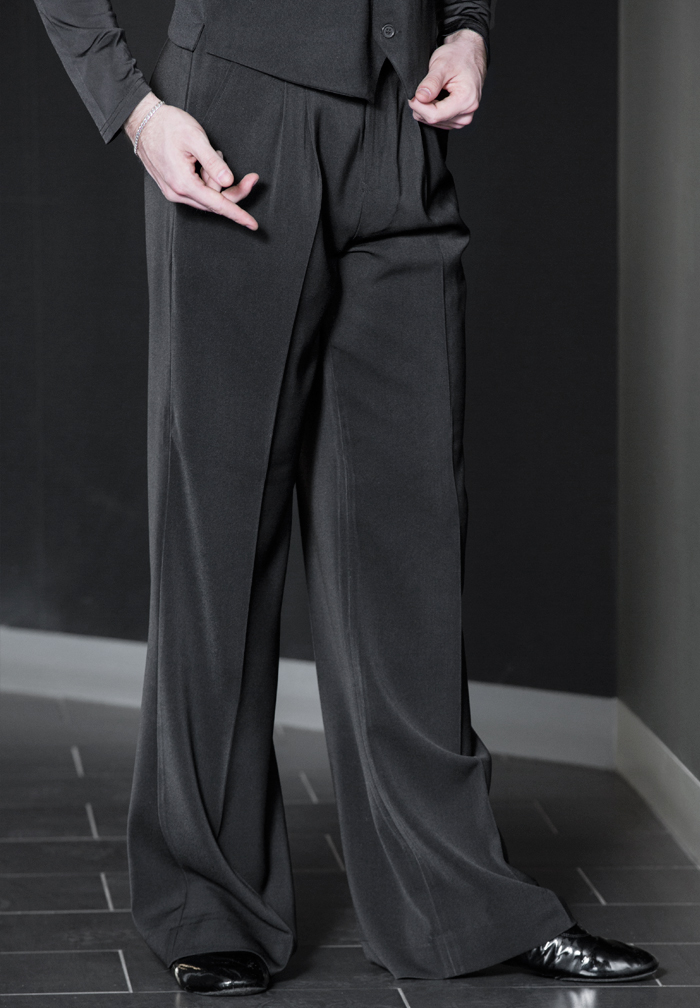 Je Dor Basic Ballroom Pants w/out Satin B3551C