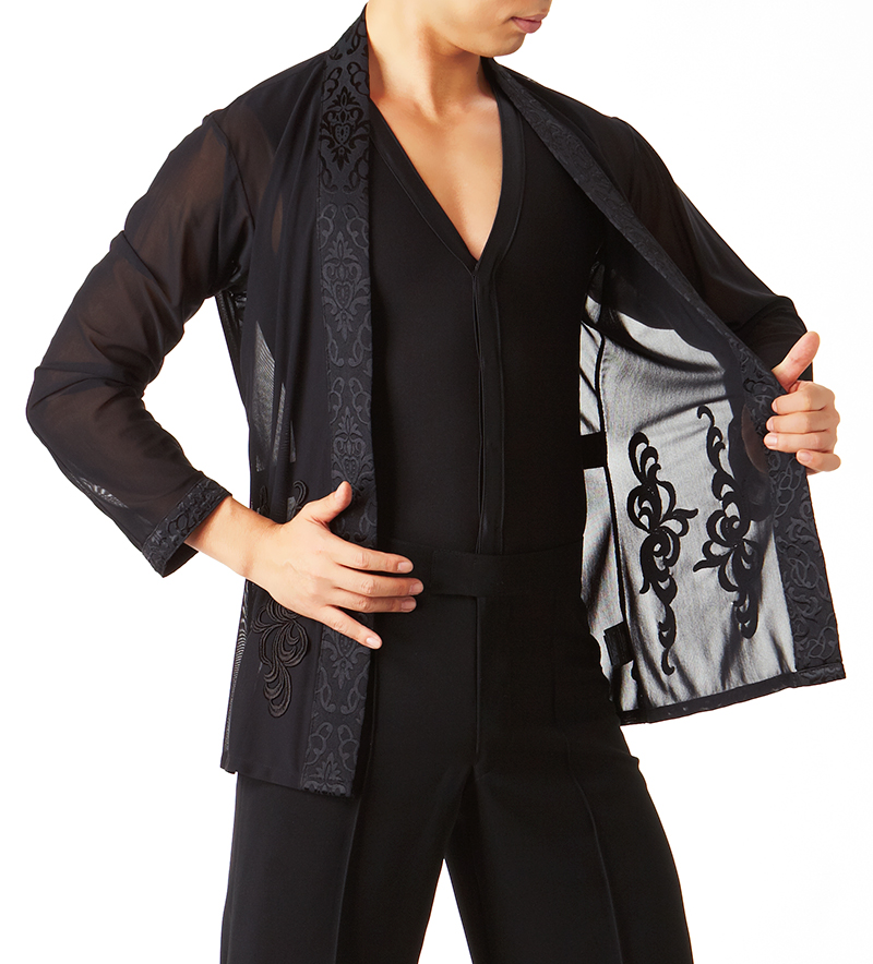 Taka Mens Latin Dance Jacket MS214