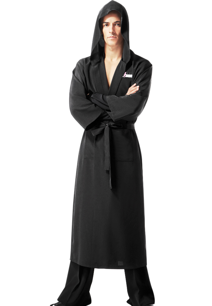 taka mens robe with hood mr02 dancewear. Black Bedroom Furniture Sets. Home Design Ideas
