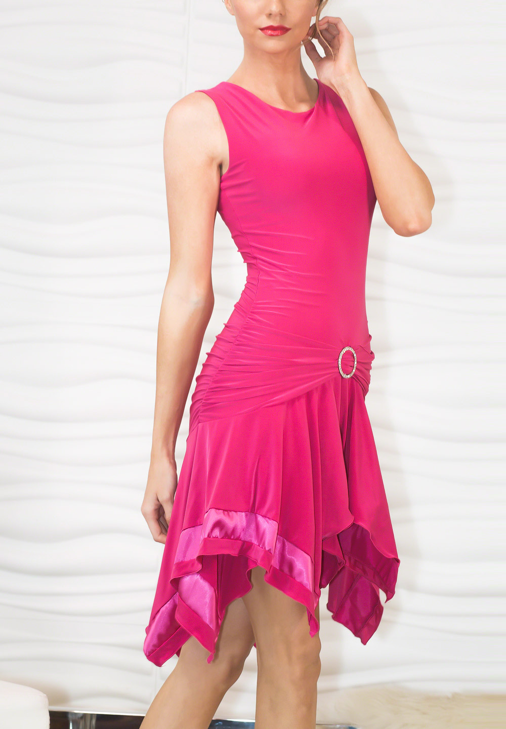 Dance America D705 - Banded Box Dress