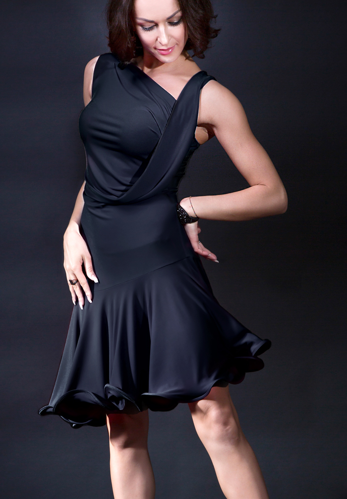Santoria Kardia Latin Dance Dress DR7056