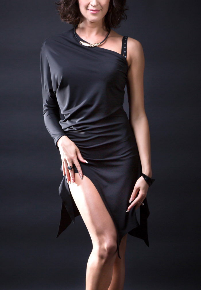 Santoria Skotia Latin Dance Dress DR7055