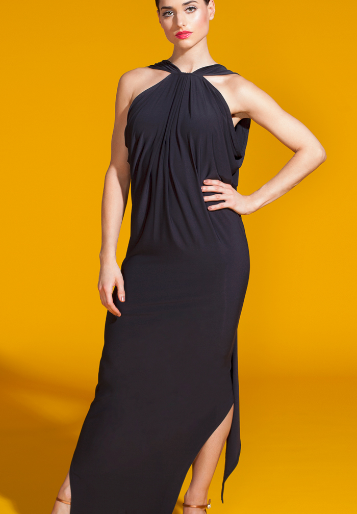 Vesa for Chrisanne Rumba Drape Dress