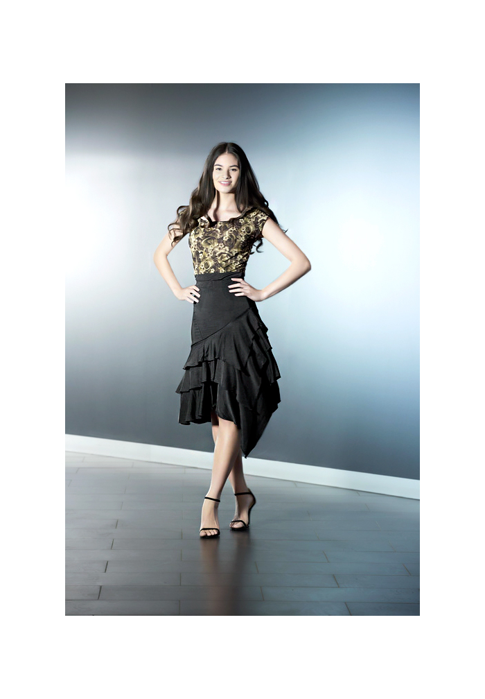 Je Dor Flamenco Latin Dance Skirt J1810