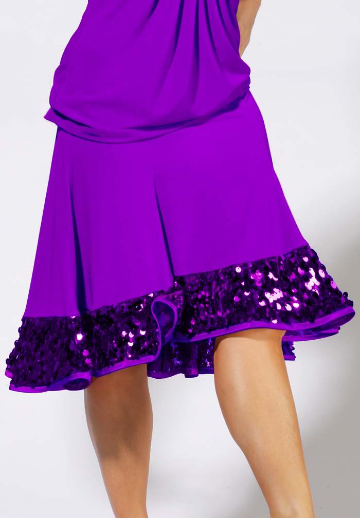 Zdenka Arko Latin Dance Skirt S1003